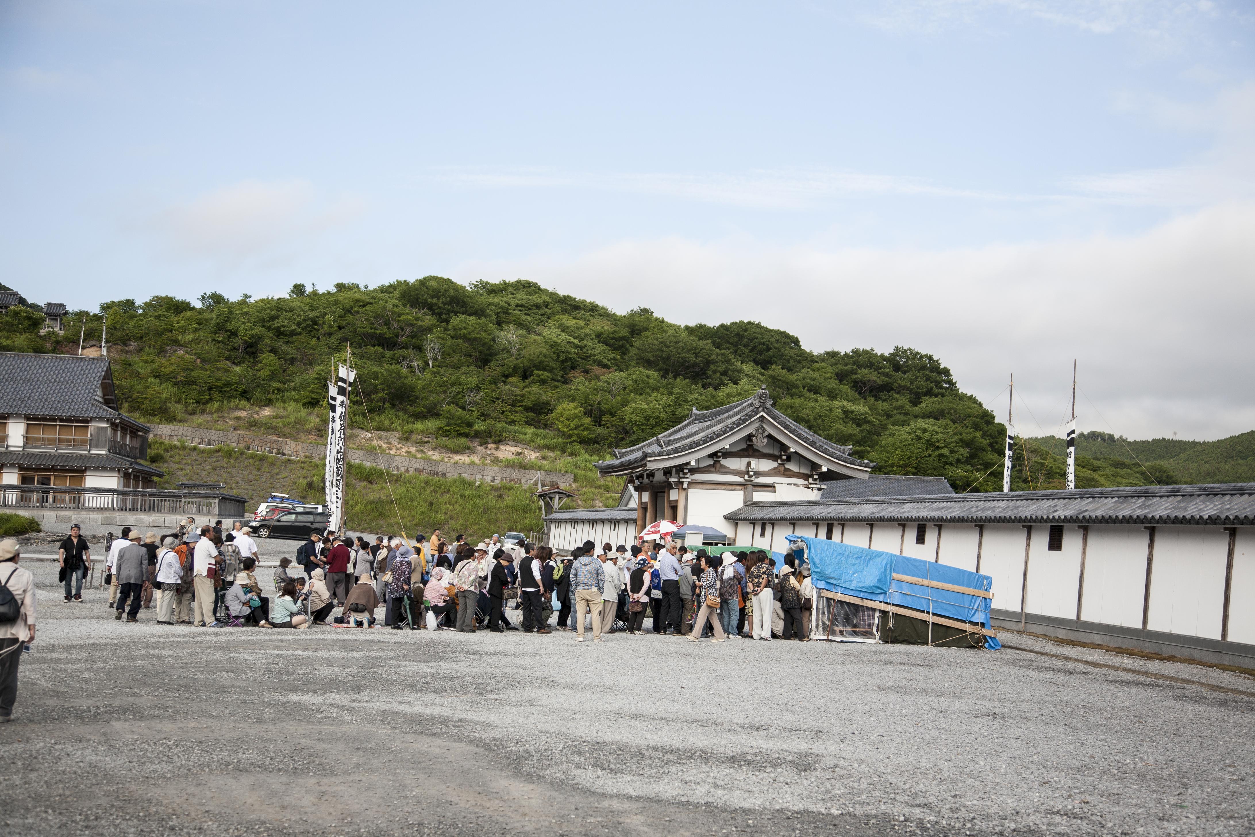 Aoyama-san at Mt. Osore