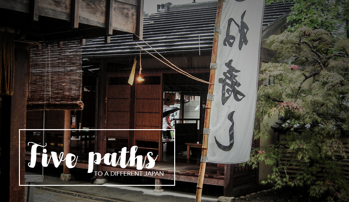 5 paths to a different Japan