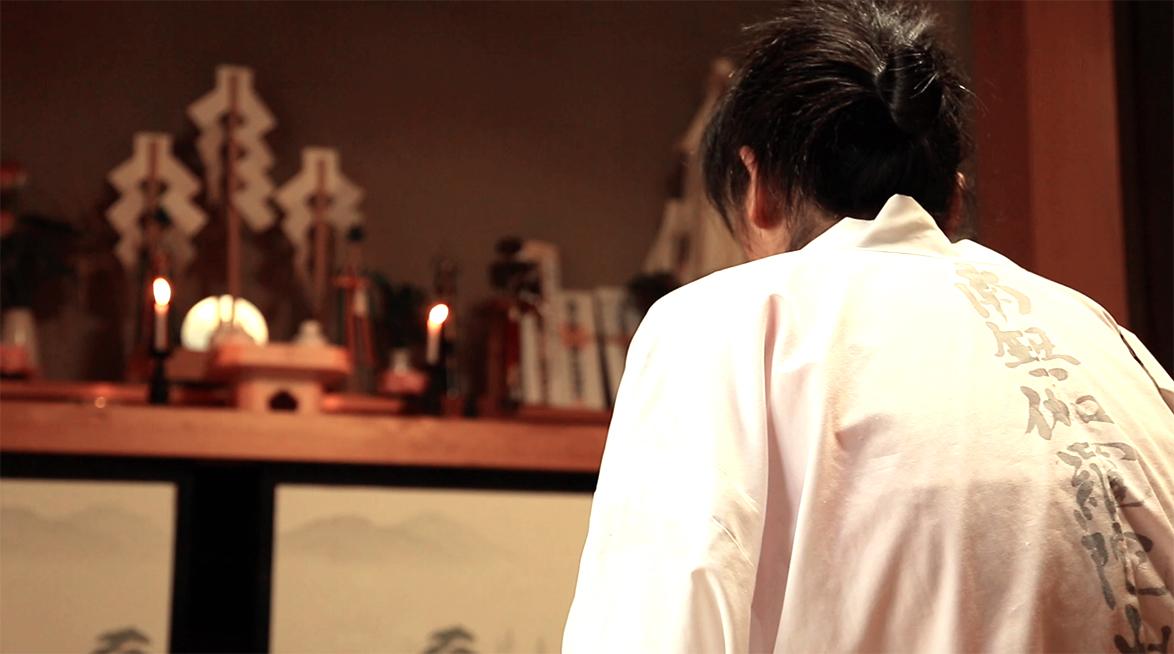 Meeting an itako Matsuda