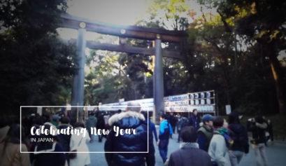 Celebrating New year in Japan