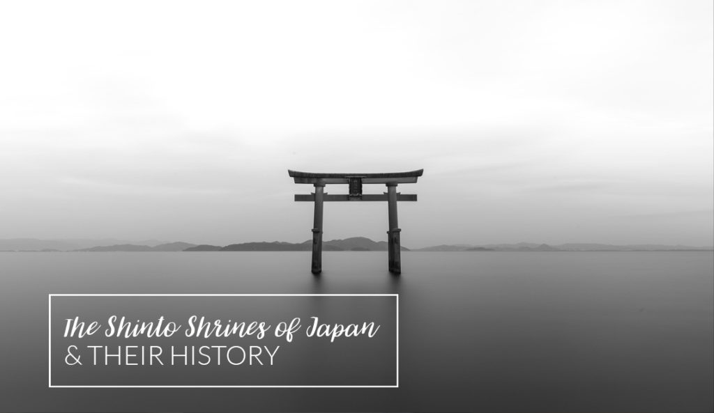 The shinto shrines of japan and their stories