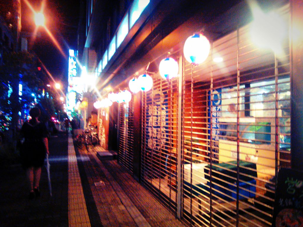 where to go Osaka by night, in Kansai area japan