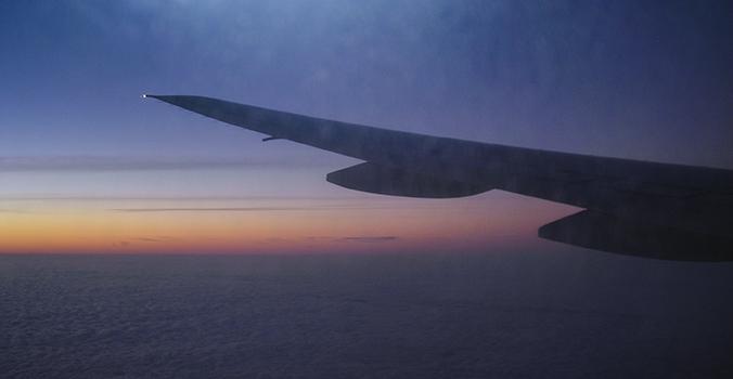 landing in Japan