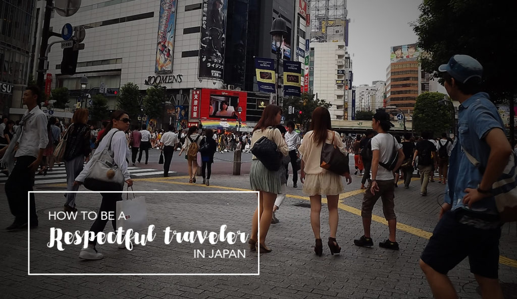 How to be a respectful traveler in Japan
