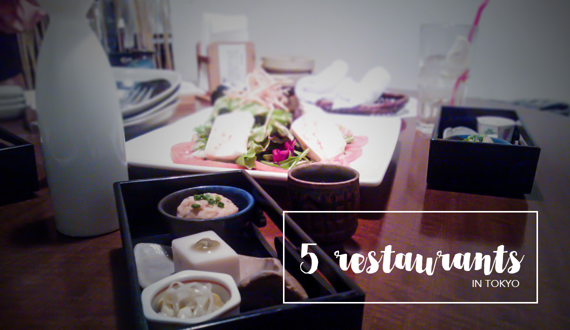 5 restaurants in Tokyo, where to eat in Japan